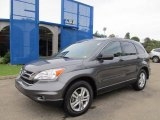 2011 Polished Metal Metallic Honda CR-V EX 4WD #54203124