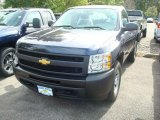 2011 Imperial Blue Metallic Chevrolet Silverado 1500 Regular Cab 4x4 #54202362