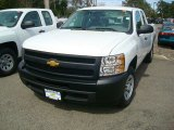 2012 Summit White Chevrolet Silverado 1500 Work Truck Extended Cab #54202343