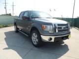 2011 Sterling Grey Metallic Ford F150 Lariat SuperCrew 4x4 #54204024