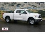 2011 Super White Toyota Tundra SR5 Double Cab 4x4 #54202243