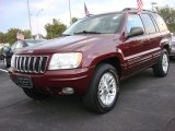 2002 Jeep Grand Cherokee Dark Garnet Red Pearlcoat
