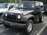 2012 Black Jeep Wrangler Sport S 4x4 #54202446