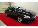 2010 Crimson Black Nissan Maxima 3.5 SV Sport #54203387