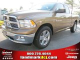 2012 Saddle Brown Pearl Dodge Ram 1500 Big Horn Quad Cab #54230348