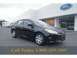 2012 Black Ford Focus S Sedan #54242057
