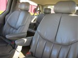 2000 Chrysler Town & Country Limited Camel Interior
