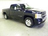 2008 Dark Blue Metallic Chevrolet Silverado 1500 LT Extended Cab #54256634