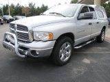 2005 Bright Silver Metallic Dodge Ram 1500 SLT Quad Cab #54257271