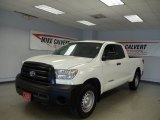 2010 Super White Toyota Tundra Double Cab #54257232