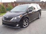 2011 Black Toyota Sienna SE #54257177