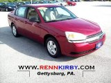 2005 Sport Red Metallic Chevrolet Malibu LS V6 Sedan #54256527