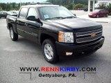 2012 Black Chevrolet Silverado 1500 LT Crew Cab 4x4 #54256520