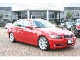2008 Crimson Red BMW 3 Series 335i Sedan #54256482