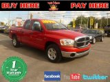 2006 Flame Red Dodge Ram 1500 SLT Quad Cab #54257114