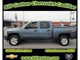 2007 Blue Granite Metallic Chevrolet Silverado 1500 LT Z71 Crew Cab 4x4 #54257740