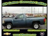 2011 Blue Granite Metallic Chevrolet Silverado 1500 Regular Cab #54257724