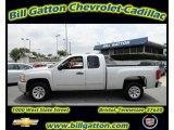 2010 Sheer Silver Metallic Chevrolet Silverado 1500 LS Extended Cab #54257692