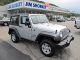 2011 Bright Silver Metallic Jeep Wrangler Sport 4x4 #54256457