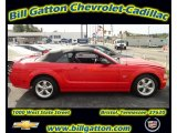 2007 Torch Red Ford Mustang GT Premium Convertible #54257660