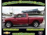 2011 Deep Cherry Red Crystal Pearl Dodge Ram 1500 Big Horn Quad Cab 4x4 #54257658
