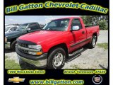 2002 Victory Red Chevrolet Silverado 1500 LS Regular Cab 4x4 #54257655
