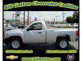 2011 Sheer Silver Metallic Chevrolet Silverado 1500 Regular Cab #54257574
