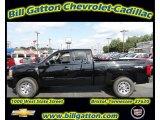2011 Black Chevrolet Silverado 1500 LS Extended Cab 4x4 #54257547