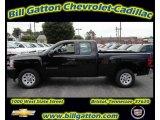 2011 Black Chevrolet Silverado 1500 Extended Cab #54257540