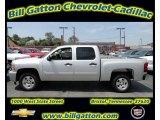 2011 Sheer Silver Metallic Chevrolet Silverado 1500 LT Crew Cab #54257539