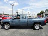 2011 Blue Granite Metallic Chevrolet Silverado 1500 Extended Cab #54257533