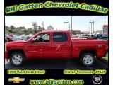 2011 Victory Red Chevrolet Silverado 1500 LT Crew Cab 4x4 #54257531