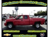 2011 Victory Red Chevrolet Silverado 1500 LS Extended Cab #54257530