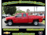 2011 Victory Red Chevrolet Silverado 1500 Extended Cab #54257529