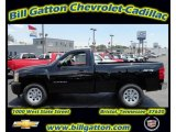 2011 Black Chevrolet Silverado 1500 Regular Cab 4x4 #54257525