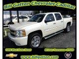 2011 White Diamond Tricoat Chevrolet Silverado 1500 LTZ Crew Cab 4x4 #54257523
