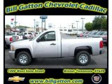 2011 Sheer Silver Metallic Chevrolet Silverado 1500 Regular Cab #54257519