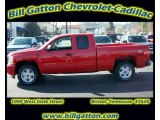 2011 Victory Red Chevrolet Silverado 1500 LT Extended Cab 4x4 #54257515