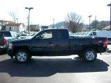 2011 Imperial Blue Metallic Chevrolet Silverado 1500 LT Extended Cab 4x4 #54257508
