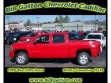 2011 Victory Red Chevrolet Silverado 1500 LT Crew Cab 4x4 #54257505