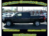 2011 Black Chevrolet Silverado 1500 LT Crew Cab 4x4 #54257504
