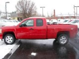 2011 Victory Red Chevrolet Silverado 1500 LT Extended Cab 4x4 #54257496