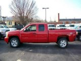 2011 Victory Red Chevrolet Silverado 1500 LT Extended Cab 4x4 #54257492