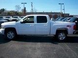 2011 Summit White Chevrolet Silverado 1500 LT Crew Cab 4x4 #54257483
