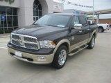 2011 Rugged Brown Pearl Dodge Ram 1500 Laramie Longhorn Crew Cab 4x4 #54256416