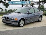 2000 Steel Blue Metallic BMW 3 Series 323i Sedan #54257038
