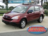 2008 Tango Red Pearl Honda CR-V LX 4WD #54257036