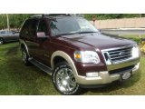 2006 Dark Cherry Metallic Ford Explorer Eddie Bauer #54256401