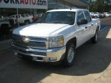 2012 White Diamond Tricoat Chevrolet Silverado 1500 LT Crew Cab 4x4 #54257018