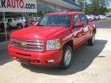 2012 Victory Red Chevrolet Silverado 1500 LT Crew Cab 4x4 #54257016